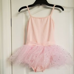 Ballet Pink Camisole Tutu / Leotard with Skirt